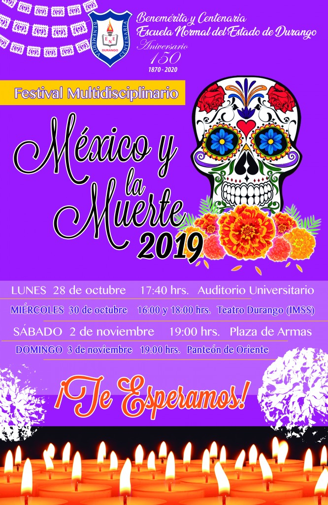 Poster Mexico Muerte Oct19